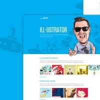 LineCase - Fresh & Bright Website PSD