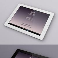 Psd iPad Perspective Mockup