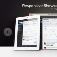 Responsive Showcase Psd Vol2
