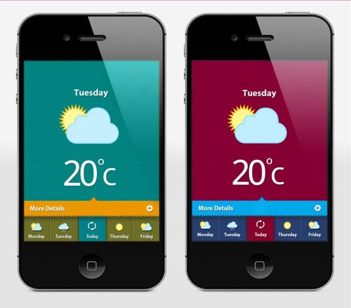 Weather App UI