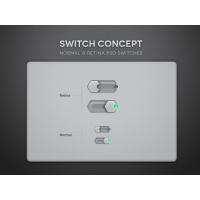 Psd Toggle Switch UI