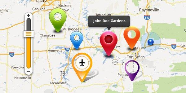 Map GUI kit (PSD)