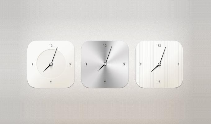 Modern Clock Widget