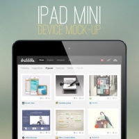 iPad Mini Mock-up Template