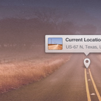 Location Popup Tool Tip PSD