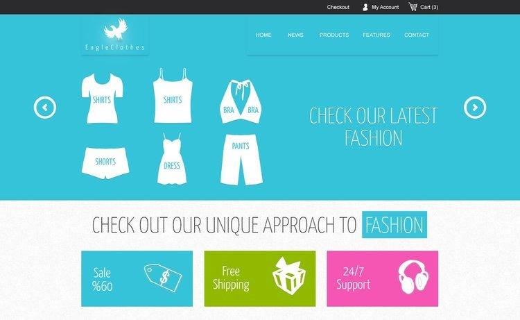 Mercor Free Ecommerce Website Template