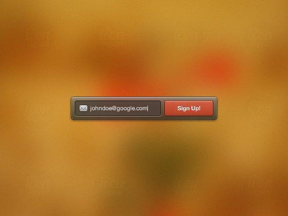 Sign Up Widget