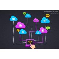 Cloud Computing Icon (PSD)