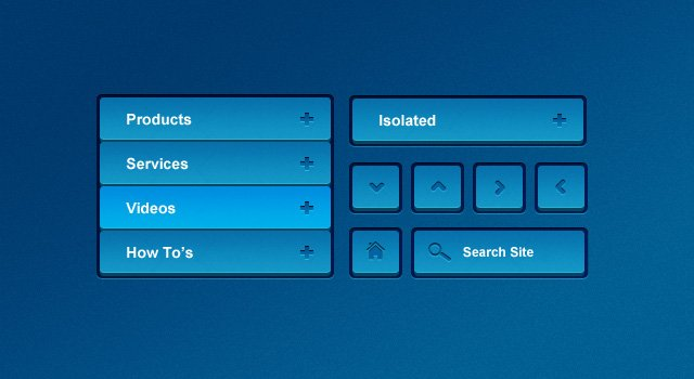 3D UI Kit