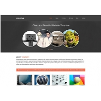 Creative Free PSD Template