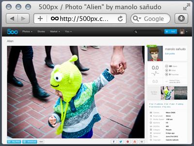 Safari Browser Chrome