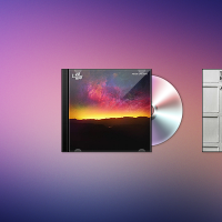 CD Case & Vinyl PSD