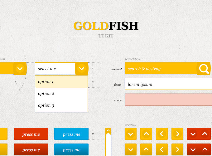 Gold Fish UI Kit