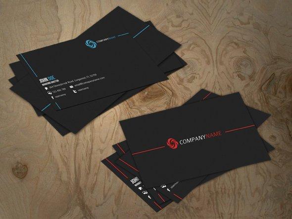 A- Business Card