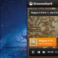 Grooveshark Mini Music Player