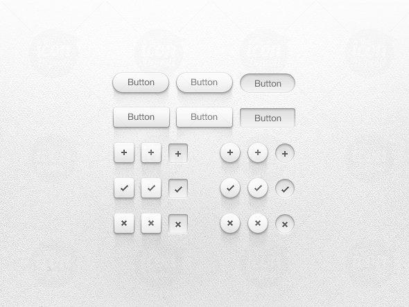 Light Button UI Kit