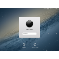 Lion Lock Screen PSD
