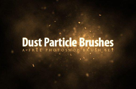 Free Dust Particle Photoshop Brush Set
