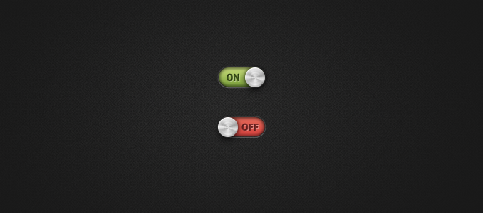 Toggle Switch PSD