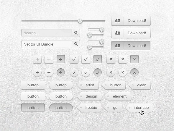Vector UI Bundle