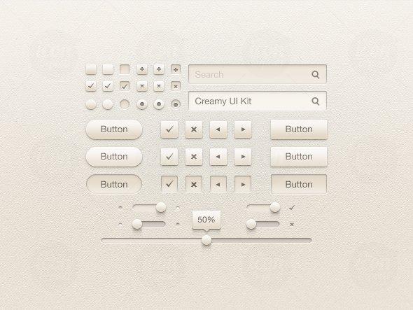 Creamy UI Kit
