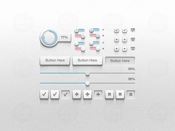 Detailed UI Kit