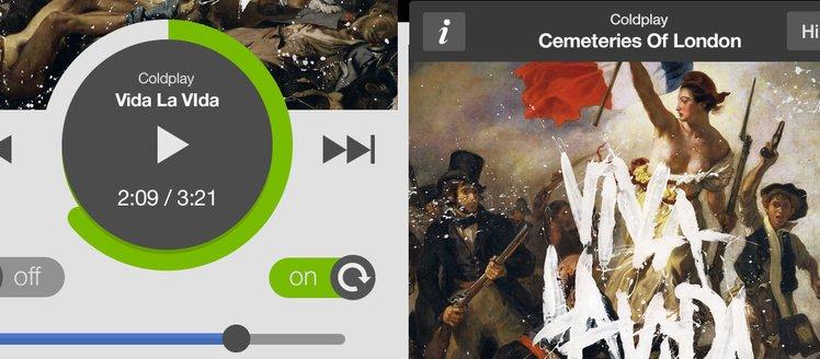 Spotify Redesign IOS App Set Psd