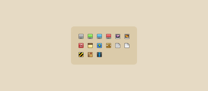 Sexy 16px Icons