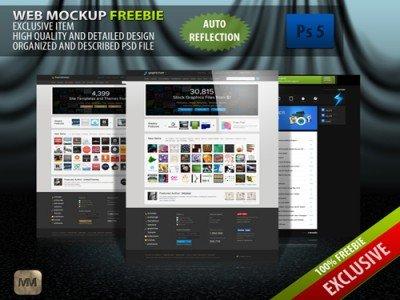 FreeBie- Web Mockup