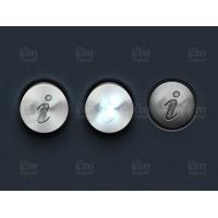 3D Metal Info Buttons