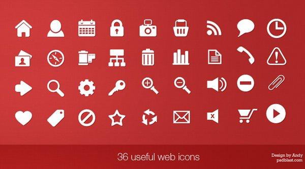 36 Useful Web Ions