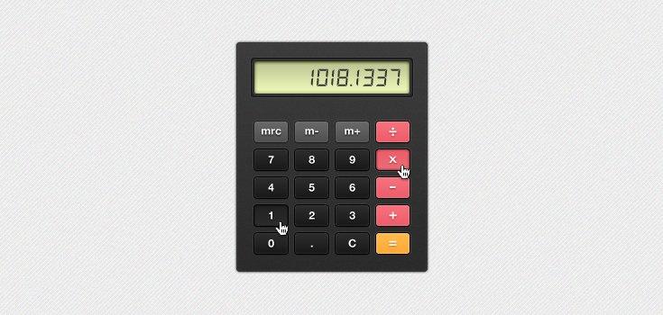 Chunky Calculator (PSD)