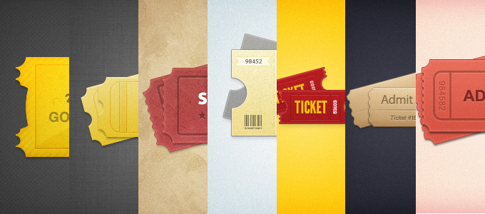 7 Styled Tickets