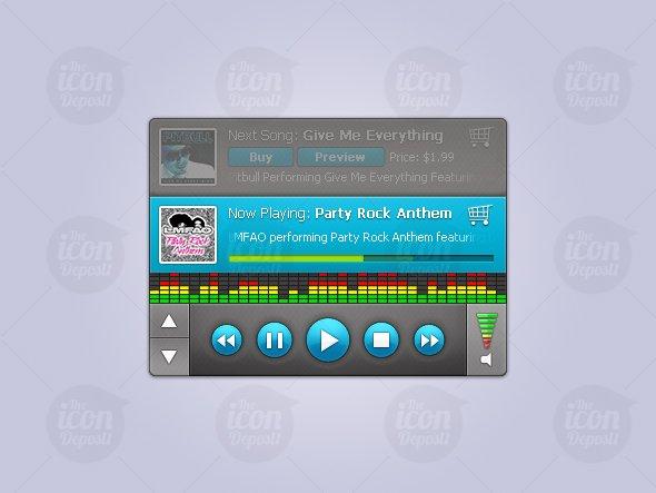 Custom Audio Player