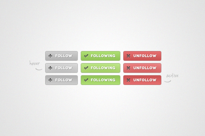 Follow Buttons