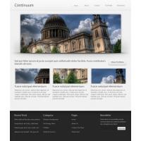 Continuum Website Template (PSD)