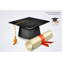 Free High School Graduation Icon