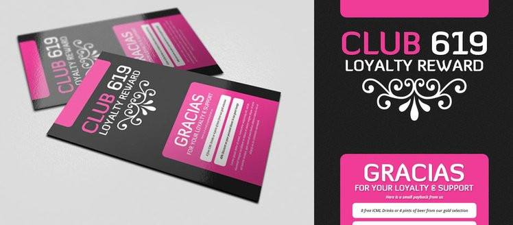 Hot Pink Business Cards