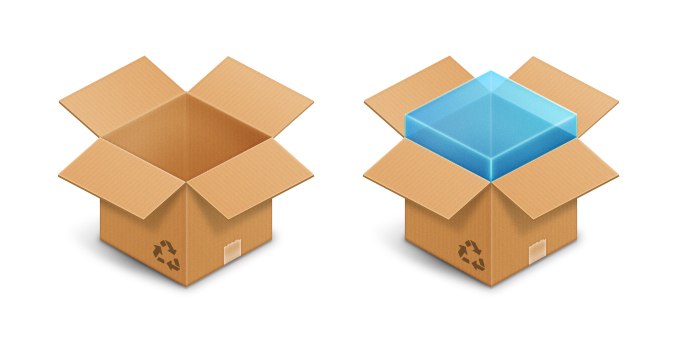 Dropbox Icon PSD