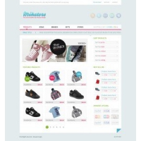 Mihstore Free Psd Layout
