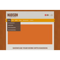 Madison Free PSD Template