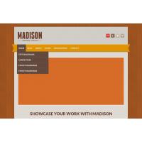 Madison Free PSD Template