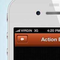 Action Bar (PSD)
