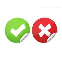 Right And Wrong Check Marks