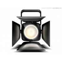 Stage Spotlight Icon (PSD)