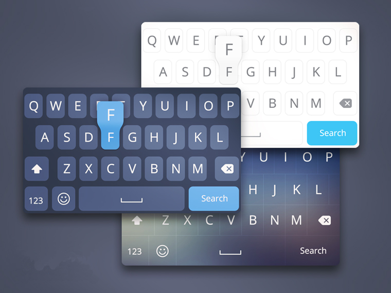 IOS8 KEYBOARD