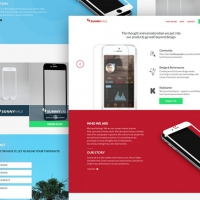 App Design Studio Website Template