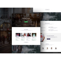 Charity Organisations Website Template Free