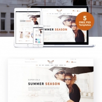 Fashion eCommerce Website Templates Free