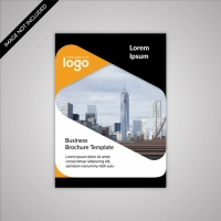 Black And White Business Brochure